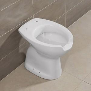 WC Per Disabili in Ceramica Bianco con Apertura Frontale h. 48 cm