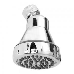 Soffione per doccia in abs cromo