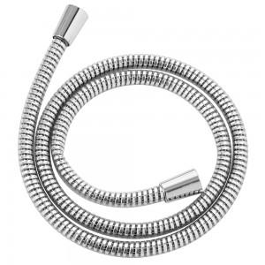 Laccio Doccia in PVC Cromo Antitorsione acciaio
