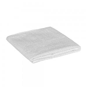 Asciugamani viso in 100% cotone bianco 55x100 cm