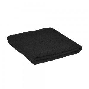 Asciugamani viso in 100% cotone nero 55x100 cm