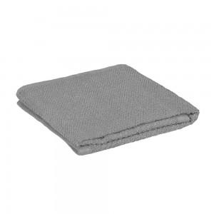 Asciugamani viso in 100% cotone colore grigio 55x100 cm