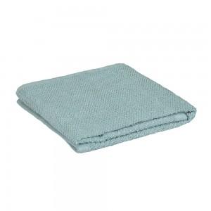 Asciugamani viso 100% cotone verde acqua 55x100 cm
