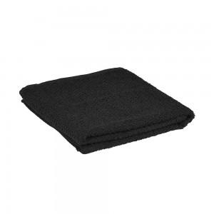 Asciugamano Ospite 100% cotone colore nero 40x60 cm