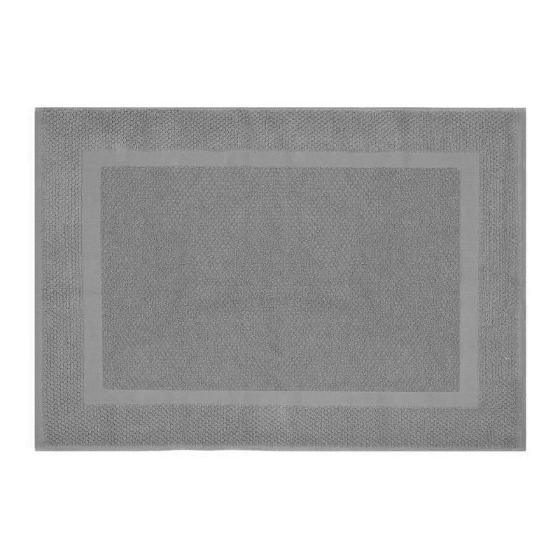 Tappeto scendi doccia 100% cotone colore grigio 45x65 cm