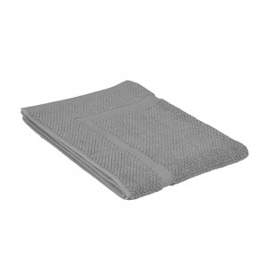 Tappeto scendi doccia cotone colore grigio 45x65 cm