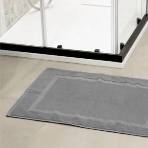 Tappeto scendi doccia grigio 45x65 cm