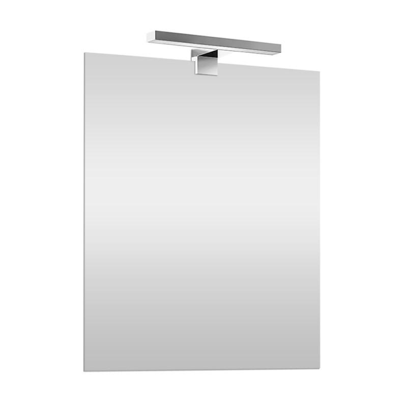 Specchio a Led reversibile 70x90 cm con luce led naturale