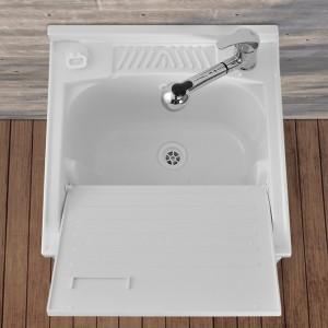 vasca lavatoio con Asse lavapanni