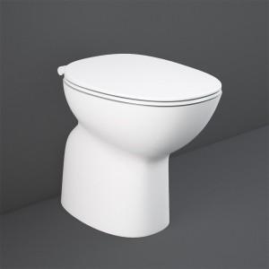 WC tradizionale serie Morning rimless scarico a pavimento in ceramica bianco