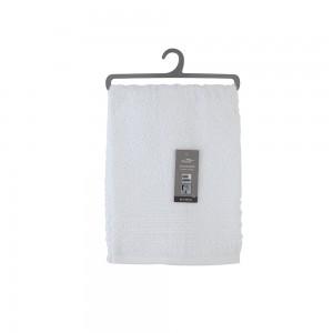 Asciugamano Viso Da Bagno 55x100 Cm Cotone Bianco