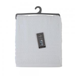 Telo Doccia Bianco 100x100 Cotone 90x140