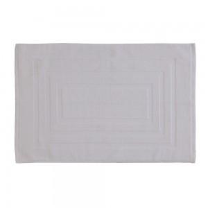 Tappeto Scedidoccia Bianco 100x100 Cotone 46x65