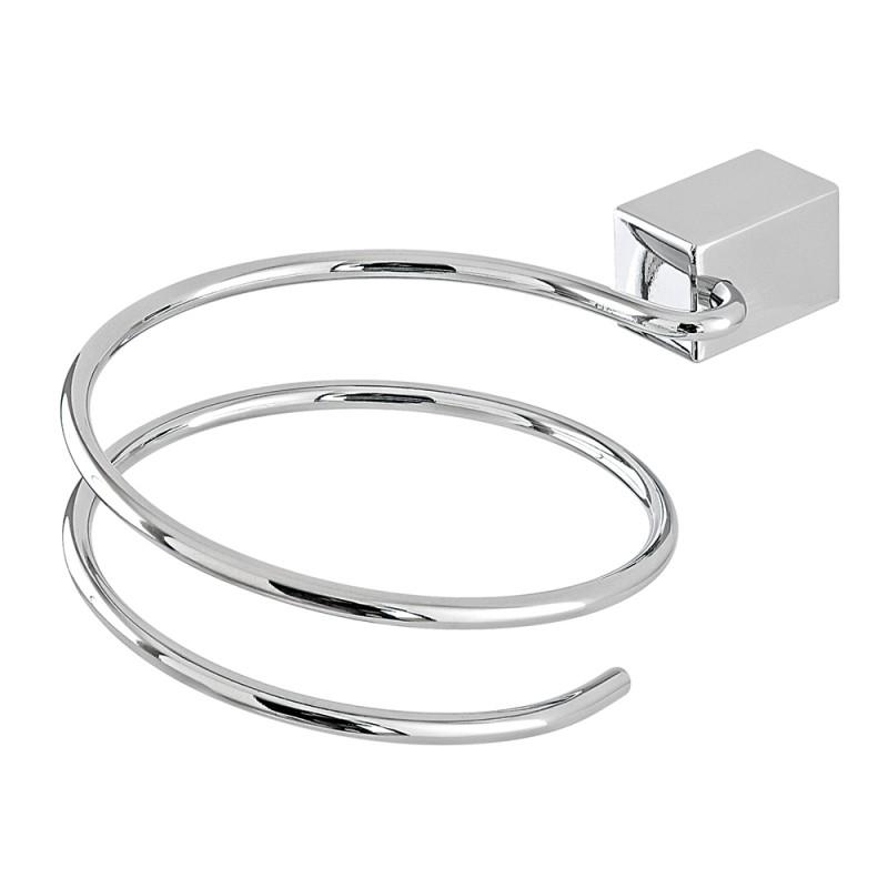 Porta Phon per il Bagno in Metallo Lucido per Installazione a Parete