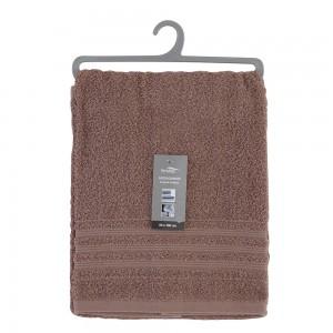 Asciugamano Viso Da Bagno 55x100 Cm Tortora