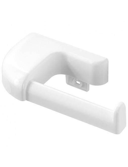 Portarotolo in Plastica Bianco