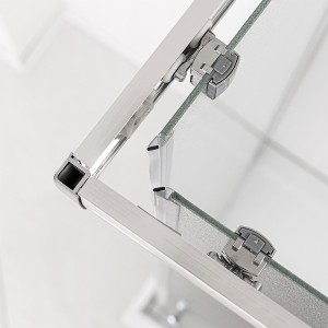 profili Box Doccia 70x70 cm in cristallo opaco