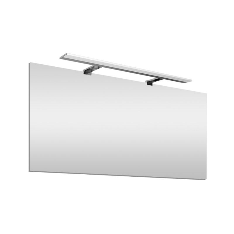 Specchio bagno LED reversibile 100x60 cm  con lampada LED