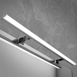 LED per specchio reversibile 100x60 cm  con lampada LED