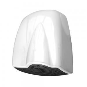 Asciugamani elettrico con motore a induzione 1850W in ABS bianco