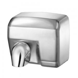 Asciugamani elettrico con sensore 2400W in acciaio inox satinato