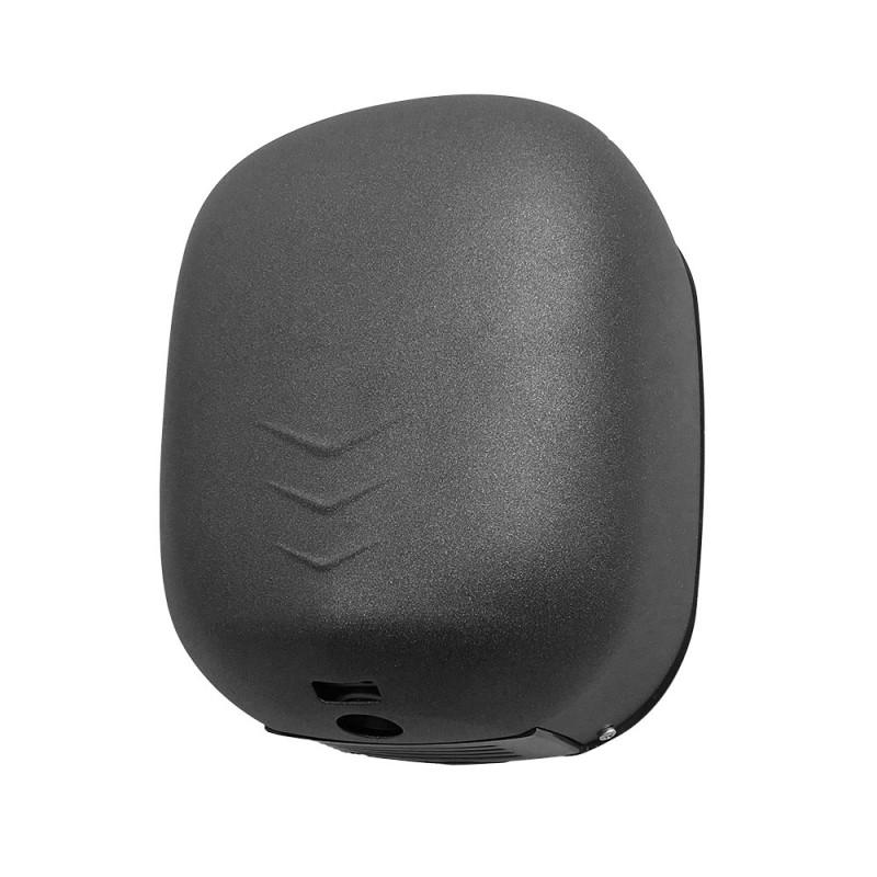 Asciugamani elettrico con sensore fotocellula 1100W ultra veloce nero