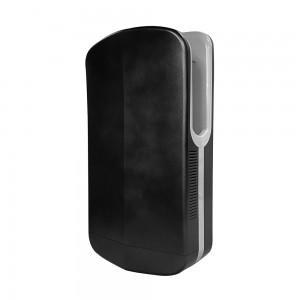 Asciugamani elettrico 1450W automatico salvaspazio nero