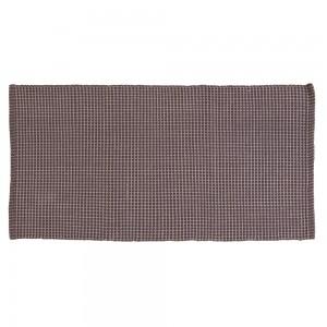Tappeto in Cotone 100% Cotone con Antiscivolo 50x90 cm Tortora Feridras - 1