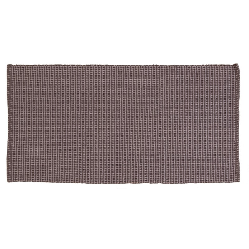 Tappeto in Cotone 100% Cotone con Antiscivolo 50x90 cm Tortora