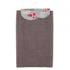 Tappeto in Cotone 100% Cotone con Antiscivolo 50x90 cm Tortora Feridras - 2