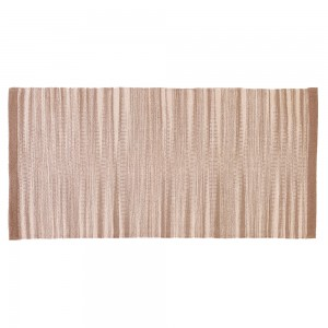 Tappeto in Cotone 100% 50x80 Beige Runner