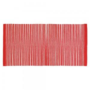 Tappeto in Cotone 50x80 Rosso