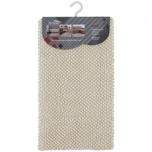 Tappeto Ecru in cotone 100% 50x80 cm