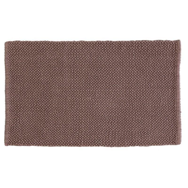 Tappeto in Cotone 100% 50x80 Tortora Mais