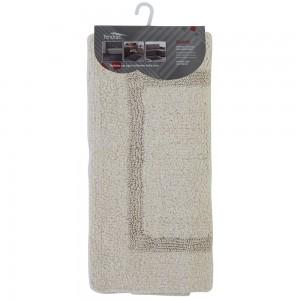 Tappeto Cotone 60x100 cm Ecru