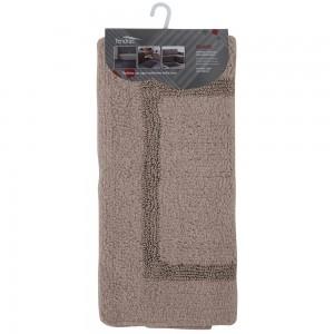 Tappeto In Cotone 60x100 cm Tortora