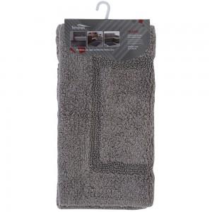 Tappeto In Cotone 60x100 cm Grigio