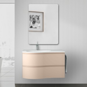 Composizione bagno sospesa Melody 90 cappuccino