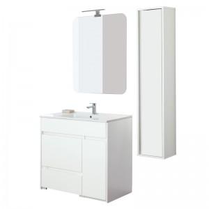 Mobile bagno moderno bianco 90 cm