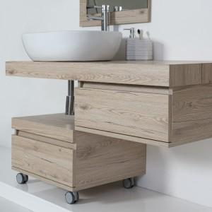 cassettiera multifunzione da bagno