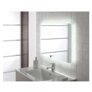 Specchio Retroilluminato con Luce LED 80x60 Reversibile Moderno