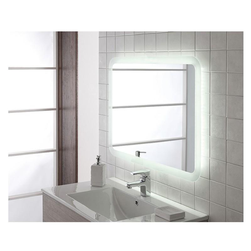 Specchio 80x60 retroilluminato a led montaggio - Specchio verticale ...