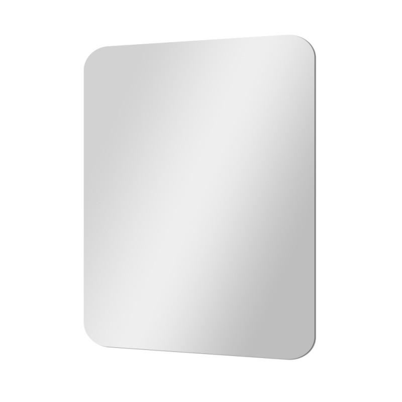 Specchio Decorativo Con Angoli Raggiati 70x90 Montaggio Reversibile