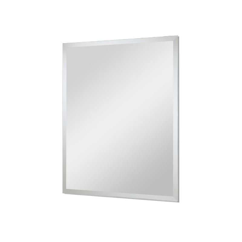 Specchio Rettangolare Bisellato, 50 Gancio Montaggio Orizzontale/Verticale
