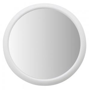 Specchio a Ventosa con Cornice in ABS, d 19 cm (Ing. 3x)