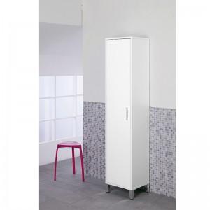 Colonna Portascopa 40cm Bianco Mondo feridras