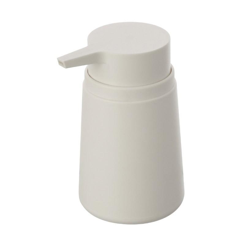 Dispenser Sapone Bagno Liquido Bianco da Appoggio per Bagno