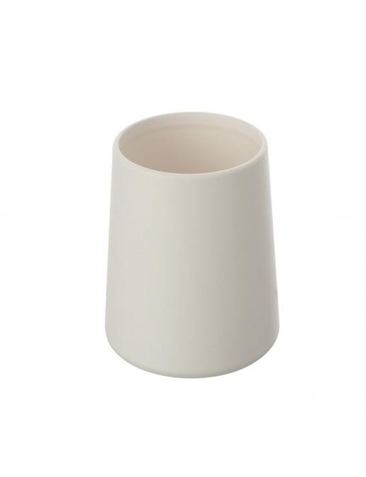 Portaspazzolino Bianco Linea Pop