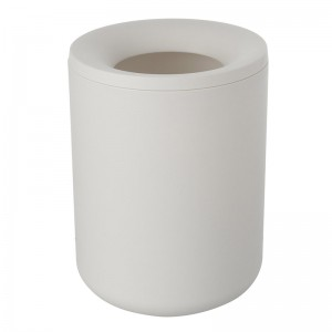 Pattumiera in ABS Bianco Linea Pop