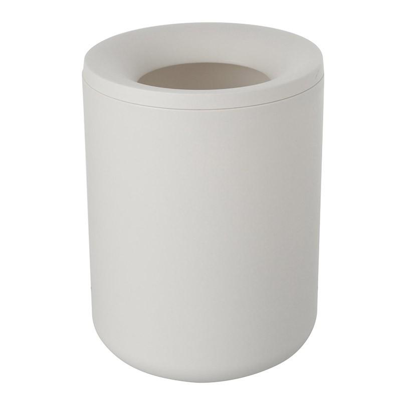 Pattumiera in Plastica color Bianco Stile Moderno